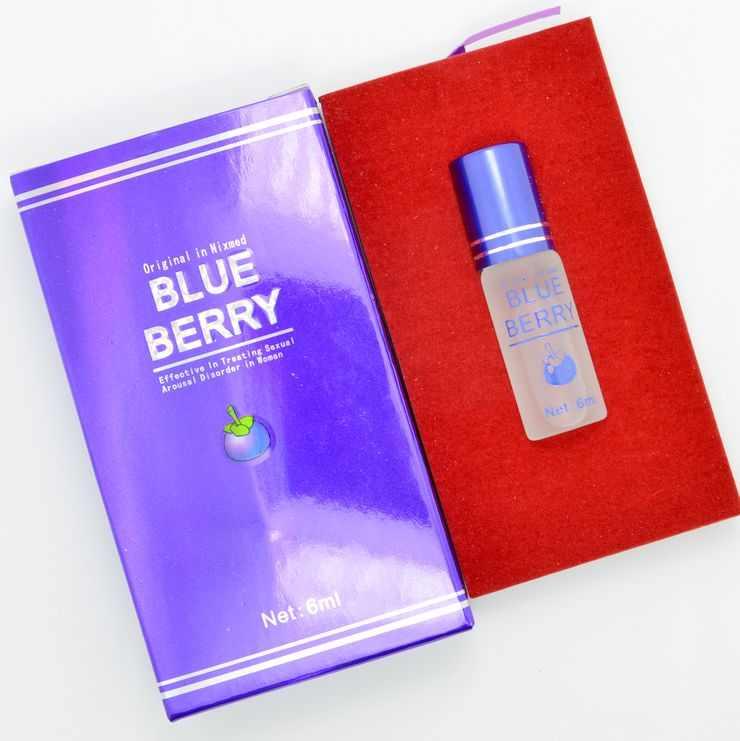 【藍莓天然春藥】 天然植物提煉 增強性慾 提高快感 6ml/瓶